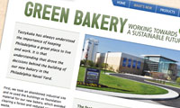 Green bakery page